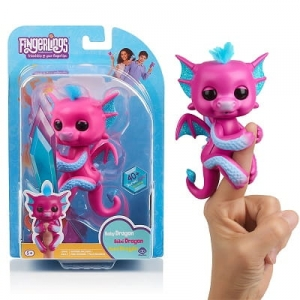 FINGERLINGS INTERAKTYWNY Smok Sandy Różowy