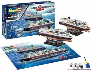 REVELL 05692 MODEL DO SKLEJANIA HURTIGRUTEN 125th
