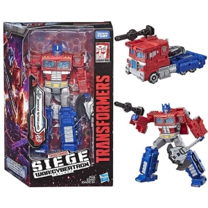 TRANSFORMERS SIEGE WAR CYBERTRON OPTIMUS PRIME