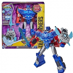 TRANSFORMERS OPTIMUS PRIME MV6 Battle Call E8380