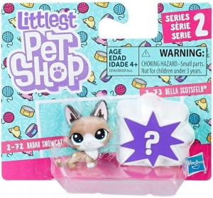 LITTLEST PET SHOP 2PAK Figurki E0946 RADAR SNOWCAT
