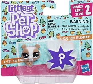 LITTLEST PET SHOP 2PAK Figurki E1017 MARI PANDALYN