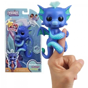 FINGERLINGS INTERAKTYWNY Smok LUNA Brokatowy