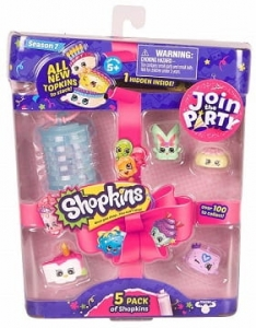 SHOPKINS JOIN PARTY Figurki 5PAK