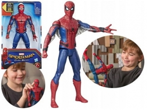 FIGURKA Homecoming SPIDERMAN 30cm DŹWIĘKI B9693